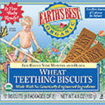 Earth's Best Wheat Teething Biscuits