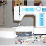 White Sewing sewing machine