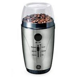 Ge Coffee Maker And Grinder : GE One-Touch Automatic Coffee Grinder 169028 Reviews Viewpoints.com