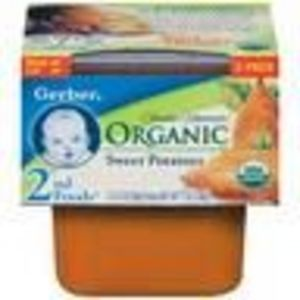 Gerber Organic 2nd Foods Sweet Potatoes