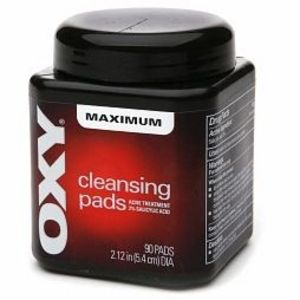 OXY Cleansing Pads Maximum Strength