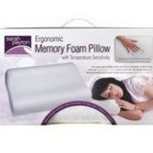 Sarah Peyton Wellness Ergonomic Memory Foam Pillow
