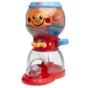Fisher-Price Bubble Gum Machine with Peek-A-Balls