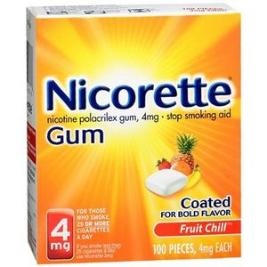 Nicorette Fruit Chill Gum