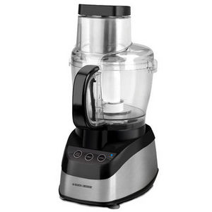 Black & Decker Wide-Mouth Food Processor