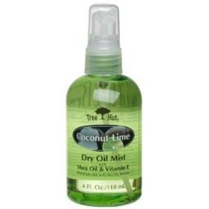 Tree Hut Coconut Lime Dry Oil Mist with Shea Oil & Vitamin E