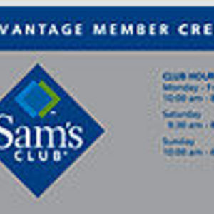 Sams cartes de crédit TAKE club
