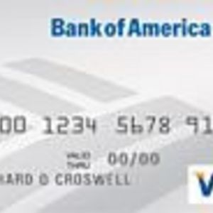 Bank of America - Student Platinum Plus Visa Card