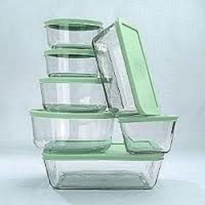 Martha Stewart 14 Piece Glass Food Storage Set Reviews Viewpointscom