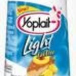 Yoplait Light Pineapple Upside-Down Cake Fat Free Yogurt