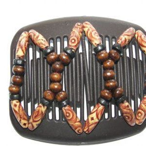 African Butterfly Hair Combs