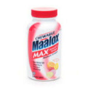 Maalox Antacid and Antigas Maximum Strength Assorted Tablets