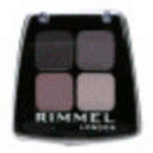 Rimmel London Colour Rush Quad Eyeshadow - Smokey Purple #003