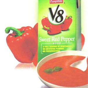 Campbell's V8 Sweet Red Pepper Soup