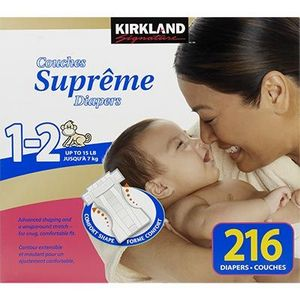Kirkland Signature Supreme Diapers