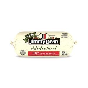 Jimmy Dean All Natural Hot Pork Sausage