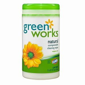 Clorox Green Works Natural Cleaning Wipes