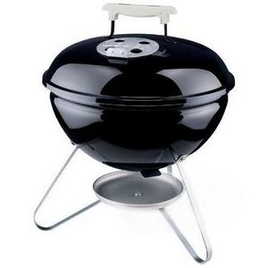 Weber Smokey Joe Silver Portable Charcoal Grill