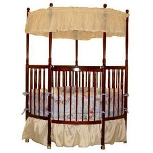 Exceptional Baby Trilogy Spindle Corner Crib