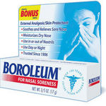 Boroleum Skin Protectant and Analgesic Ointment for Nasal Soreness