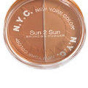 NYC Sun 2 Sun Bronzing Powder - Bronze Gold #717
