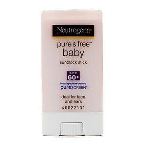 Neutrogena Pure & Free Baby Sunblock Stick SPF 60+