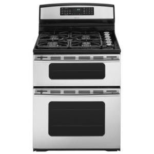 Jenn-Air Freestanding Dual Fuel Double Oven Range JDR8895AA