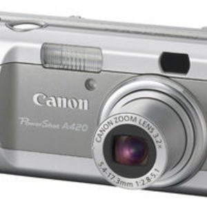 Canon - PowerShot A420 Digital Camera