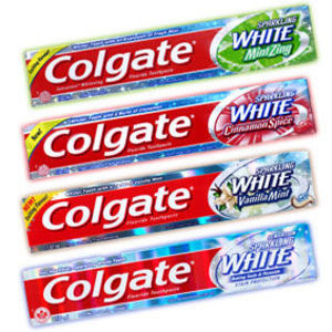 Colgate Sparkling White Cinnamint Toothpaste