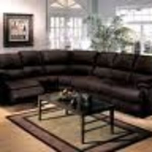 Ashley Furniture Sectional Sleeper Sofa with two Recliners