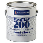 Sherwin-Williams ProMar 200 Interior Waterbased Acrylic-Alkyd Paint