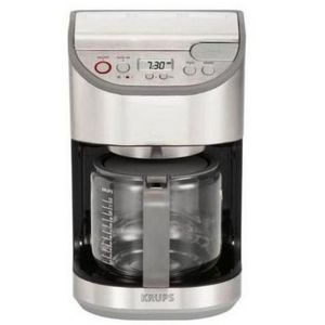 Krups Coffee Maker Reviews Ratings : Krups 12-Cup Precision Coffee Maker KM4065 / KM4055 Reviews Viewpoints.com