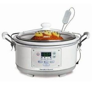 Hamilton Beach Set 'n Forget Qt. Programmable Slow Cooker