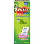 Zyrtec Children's Allergy Syrup