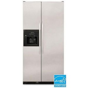 Kitchenaid Refrigerator Side By Side kitchenaid superba side-by-side refrigerator ksrg25fkss reviews