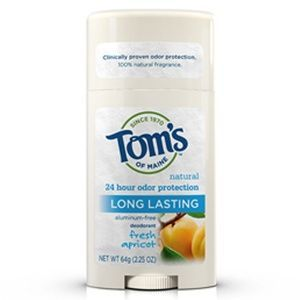 Tom's of Maine Long Lasting Care Deodorant Stick - Apricot