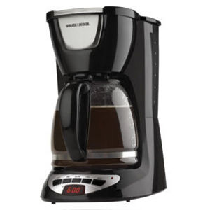 Black & Decker 12-Cup Programmable Coffee Maker DCM100B Reviews Viewpoints.com