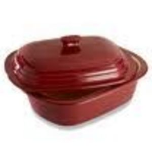 Pampered Chef Cranberry Deep Covered Baker