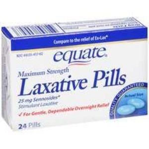 Equate Laxative pills