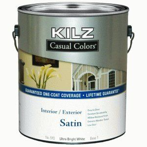 Kilz Casual Colors Interior Exterior One Coat Paint Reviews
