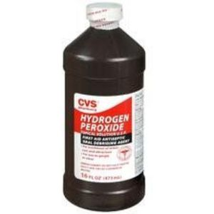 how to clear a clogged ear with hydrogen peroxide