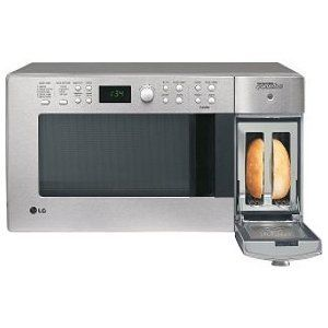 LG 900 Watt Combination Microwave and Toaster LTM9000ST
