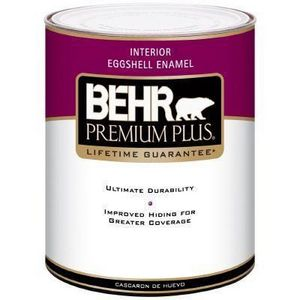 Behr Premium Plus Interior Eggshell Enamel Reviews