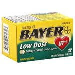 Bayer Aspirin Regimen Low Dose