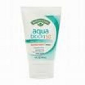 Nature's Gate Aqua Block Sunscreen SPF 50