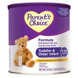 Parent's Choice Toddler & Older Infant Formula