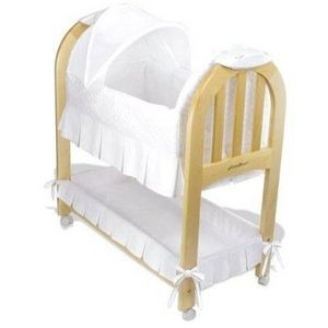 Eddie Bauer Musical Rocking Bassinet