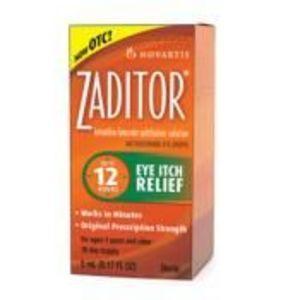 Novartis Zaditor Allergy Eyedrops