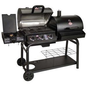 Char-Griller Duo Propane and Charcoal Grill S-