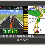 Sony NAV-U NV-U73T Portable GPS Navigator